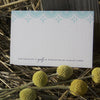 Sanibel Letterpress Reply Card