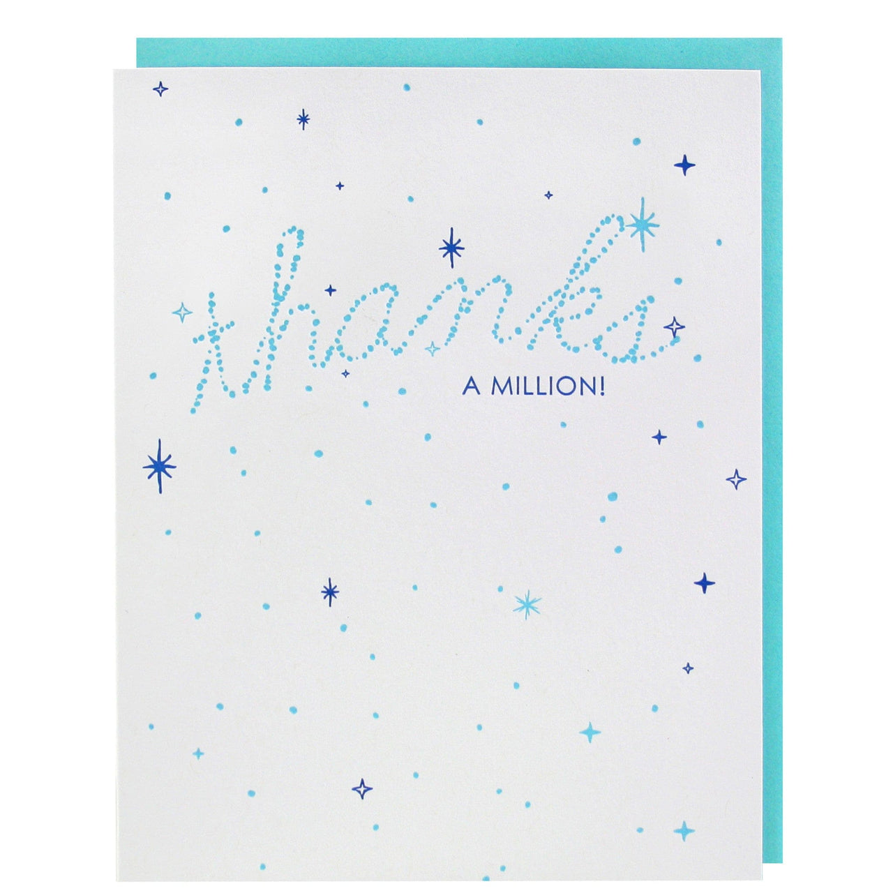 Starry Thank You Card