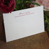 Sutton Letterpress Reply Card
