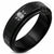 Skull Spinning Black Steel Ring - Monera-Design Co., Ltd