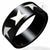 Cut Star Black Steel Ring - Monera-Design Co., Ltd