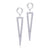Silver 925 Earrings with Rhodium Plating - Monera-Design Co., Ltd