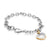 Cute Love Heart Shape Steel Charm Bracelet - Monera-Design Co., Ltd