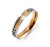 Carpe Diem Two Tones Steel Ring