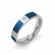 Cube Design with Cubic Zircon Stainless Steel Ring With PVD - Monera-Design Co., Ltd