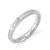 Carpe Diem Tiny Steel Ring with CZ Stone - Monera-Design Co., Ltd