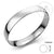 Wide Stainless Steel Solid Slip On 12 MM Bangle - Monera-Design Co., Ltd