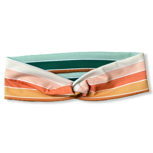 Peachy Stripes Knottie