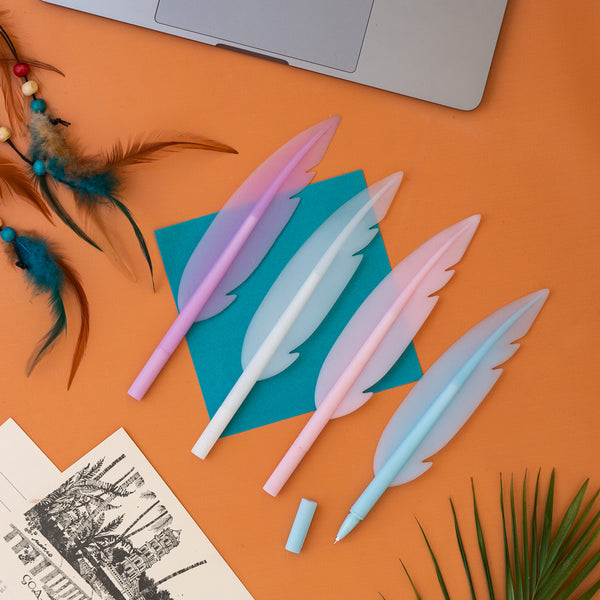 Pen - Feather – Set of 4