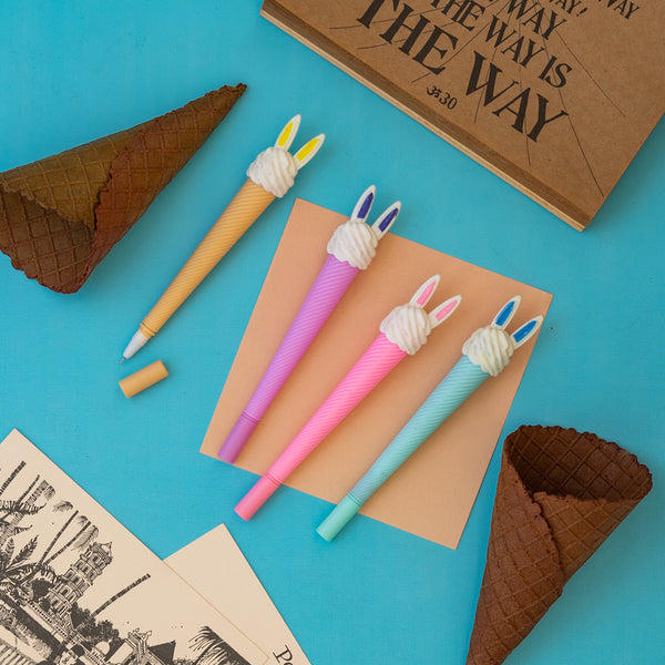 Pen - Ice Cream – Set of 4