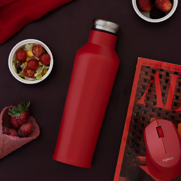 Bottle - Vacuum - Red