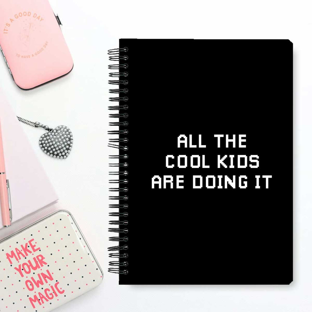 Stationery Notebook - Cool Kids