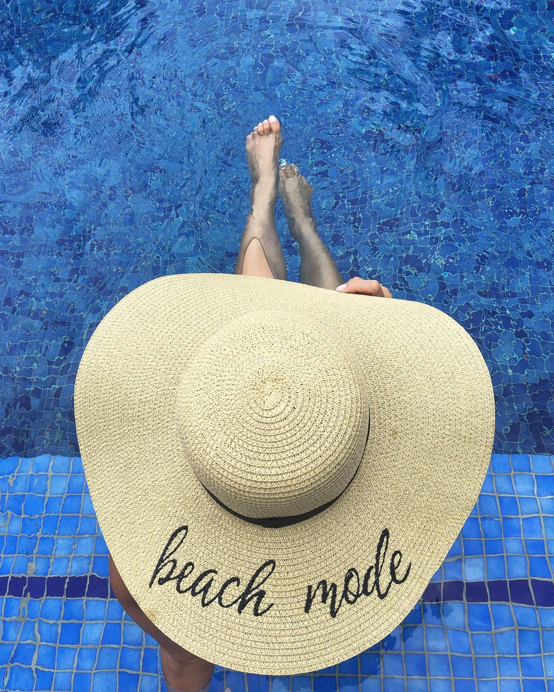 beach mode sun hats for women