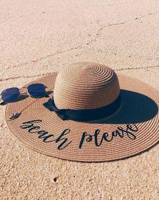 Beach Please Sun Hat for women