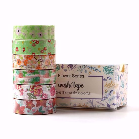 Washi Tape - Botanical Garden Set of 6