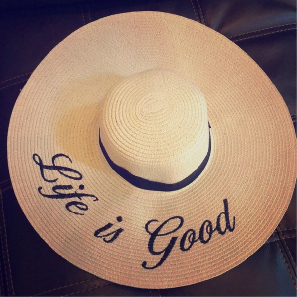 Beach Hat - Life Is Good
