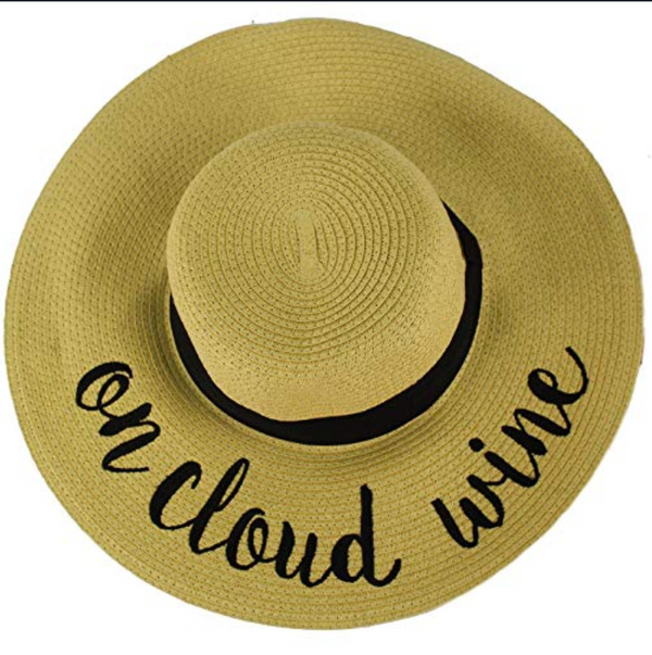 Beach Hat - On Cloud Wine
