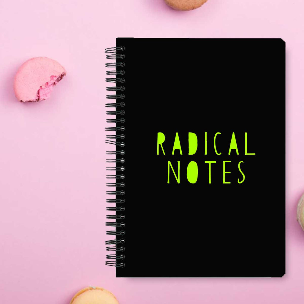 Stationery Notebook - Radical Notes