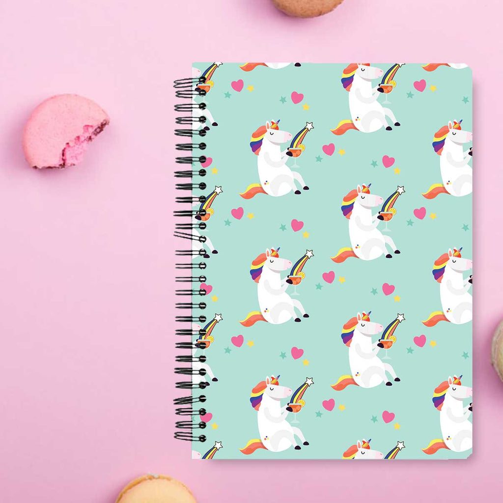 Stationery Notebook - Rainbow & Cocktail