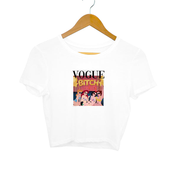Crop Top - Vogue Bitch