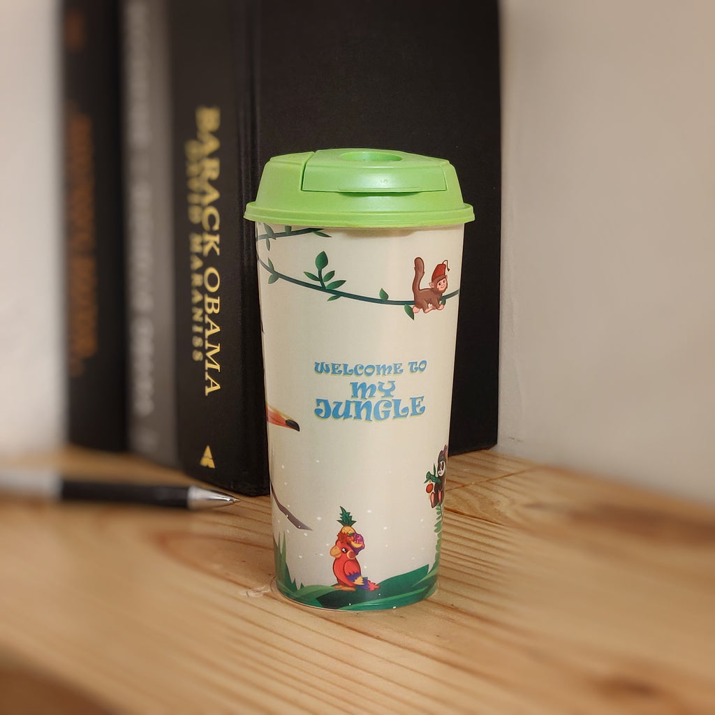 Reusable Coffee Cups - Jungle Safari