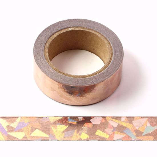 Washi Tape – Rose Gold Metallic