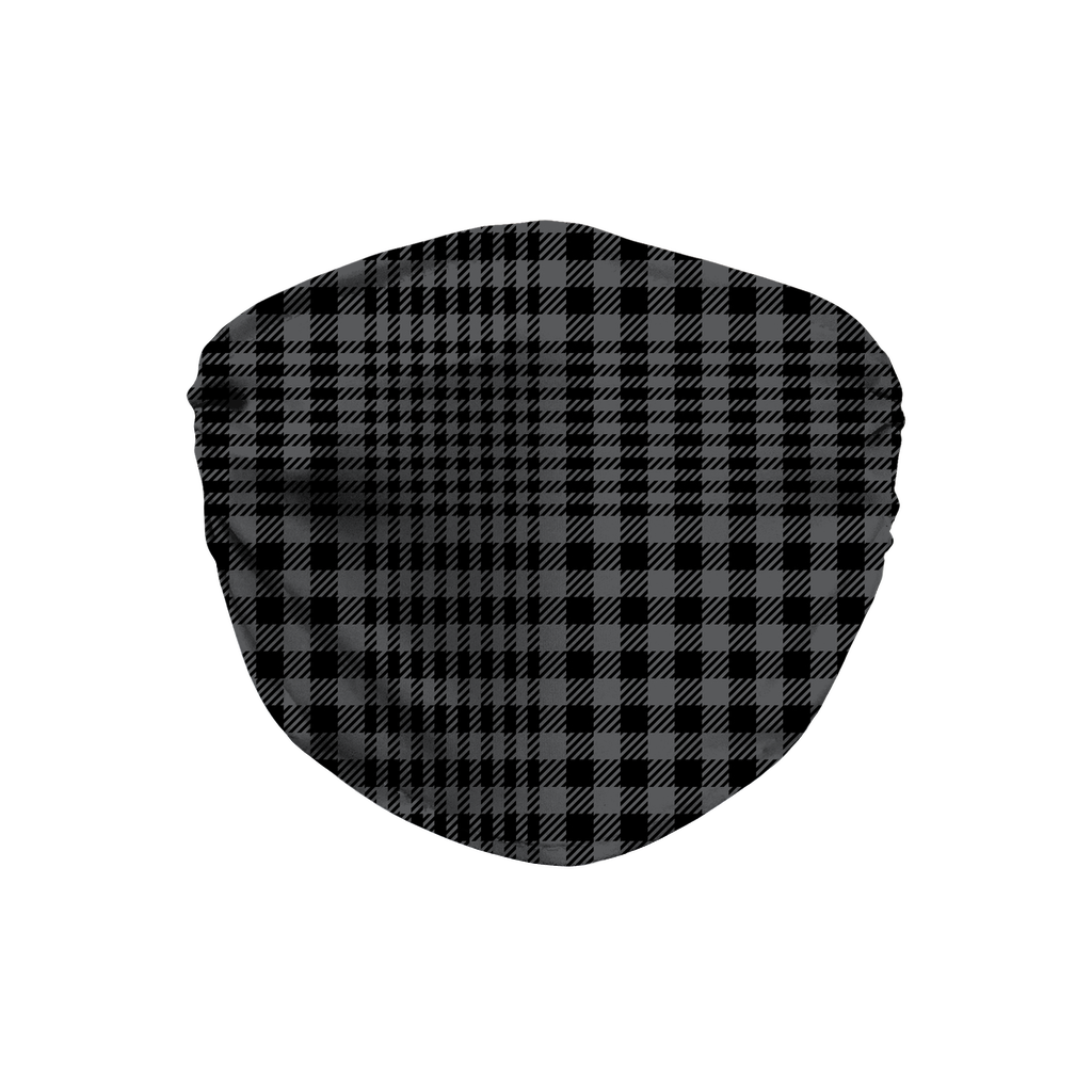 Glen Plaid 6  Face Mask