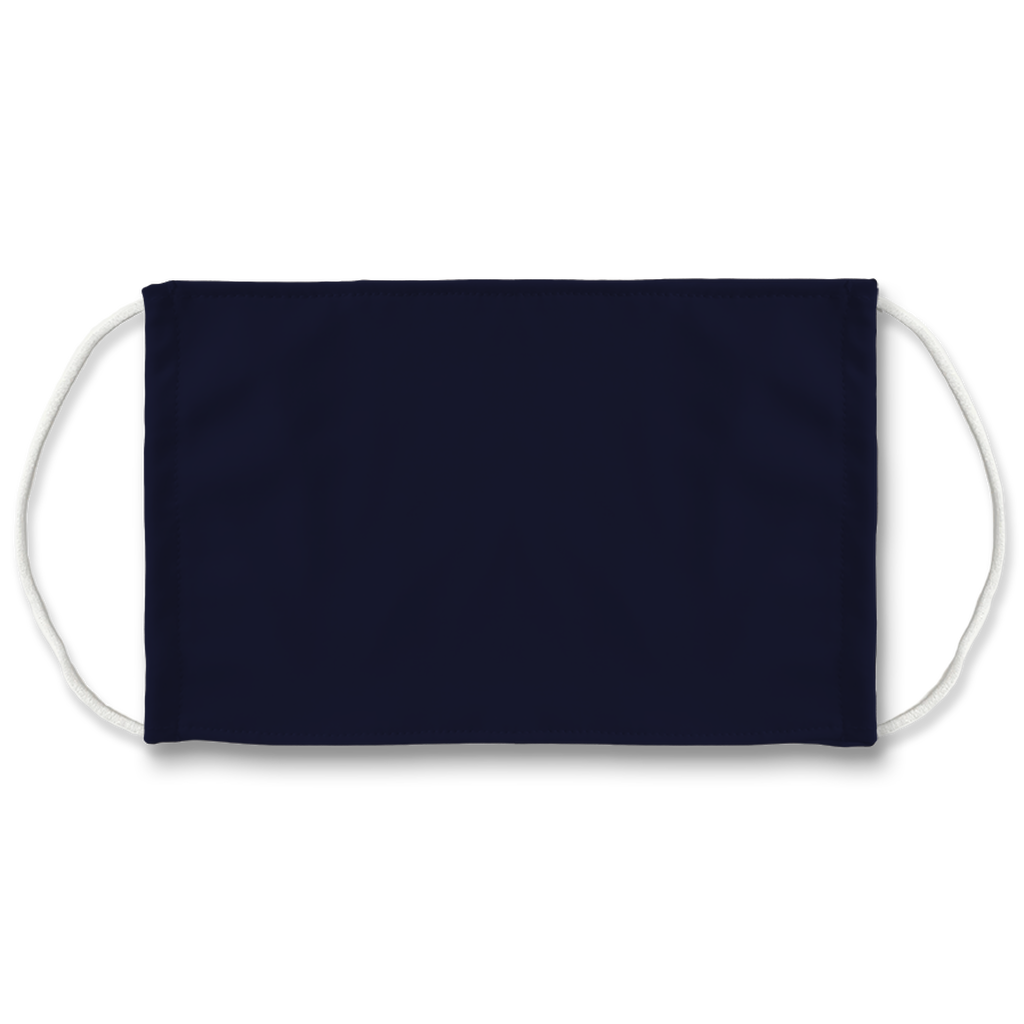 Solid color Navy  Face Mask