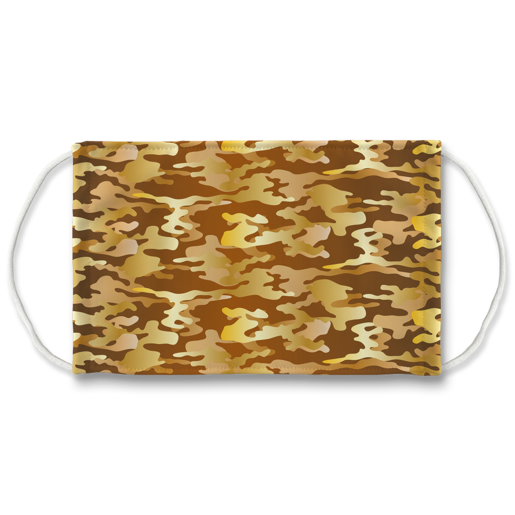 Camouflage Pattern 5  Face Mask