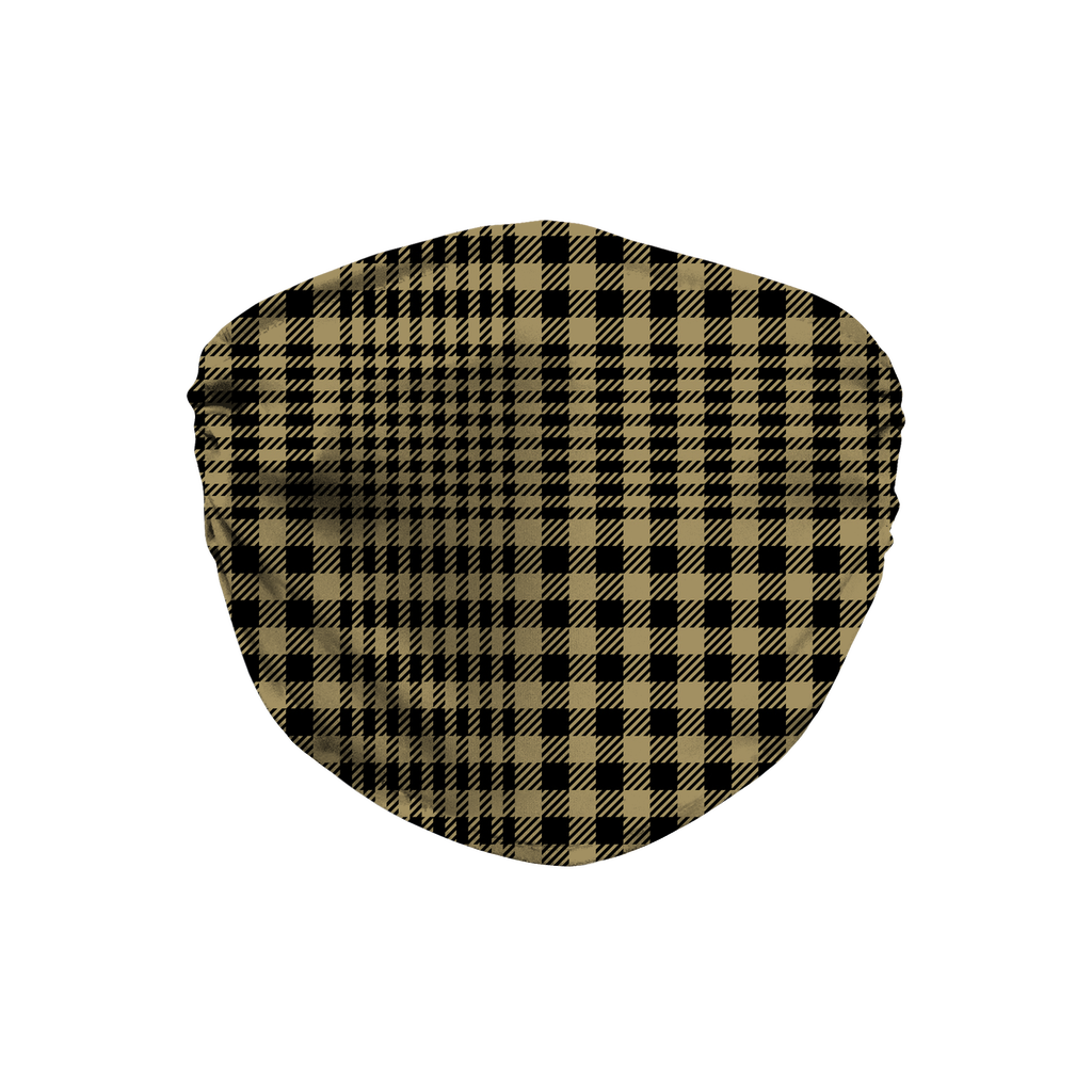 Glen Plaid 4  Face Mask
