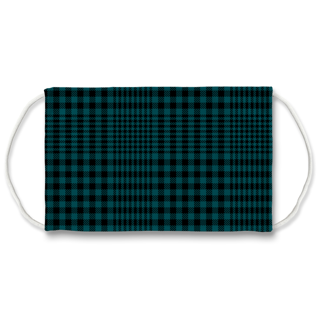 Glen Plaid 3  Face Mask
