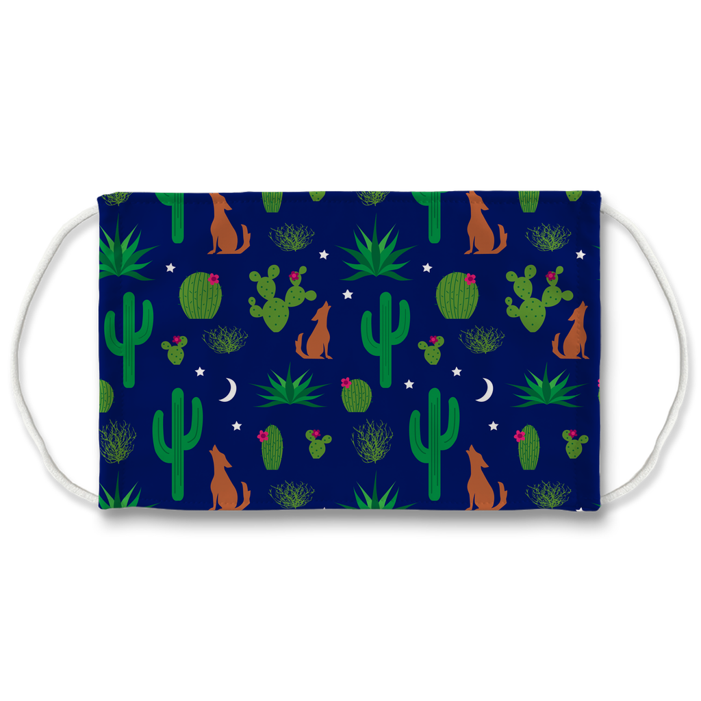 Cactus Pattern 7  Face Mask