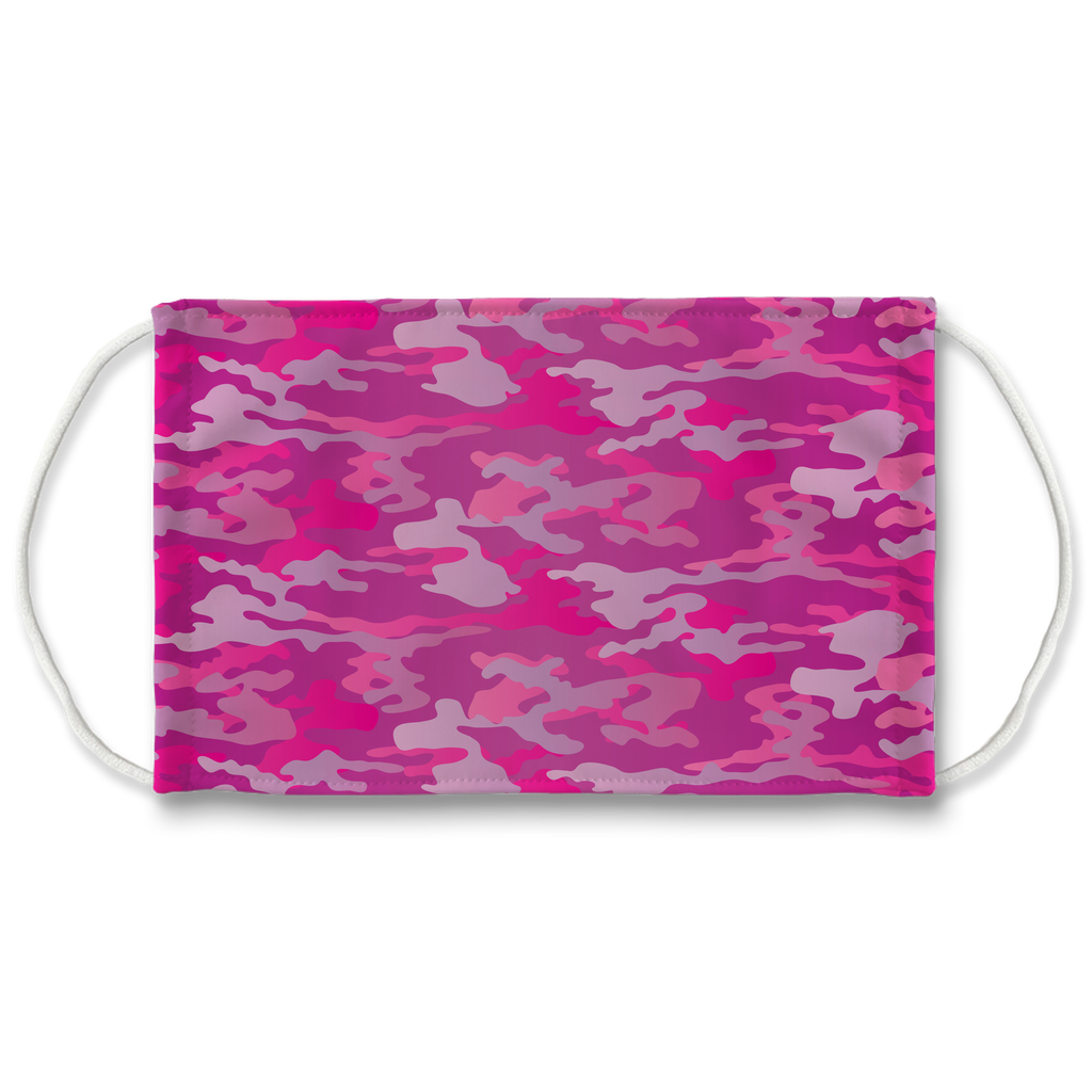 Camouflage Pattern 10  Face Mask