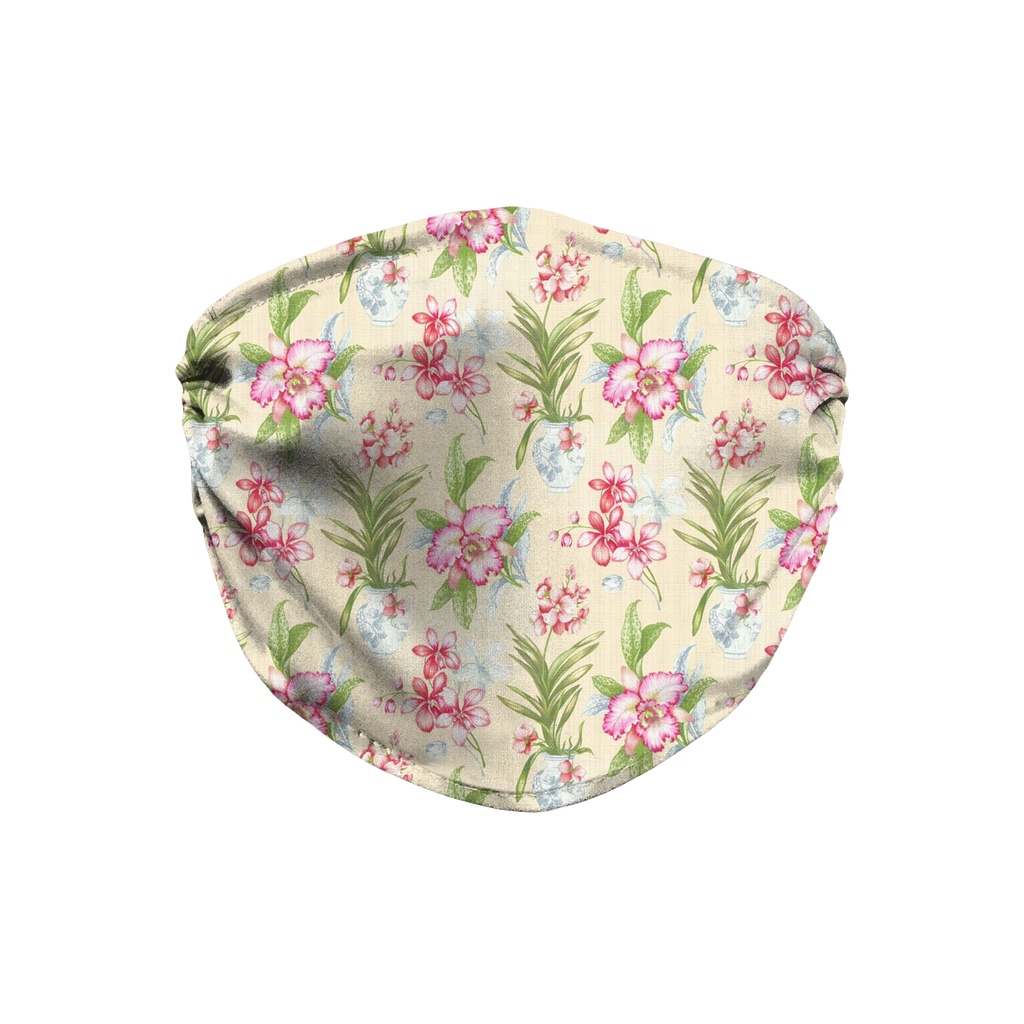 Floral pattern 4  Face Mask