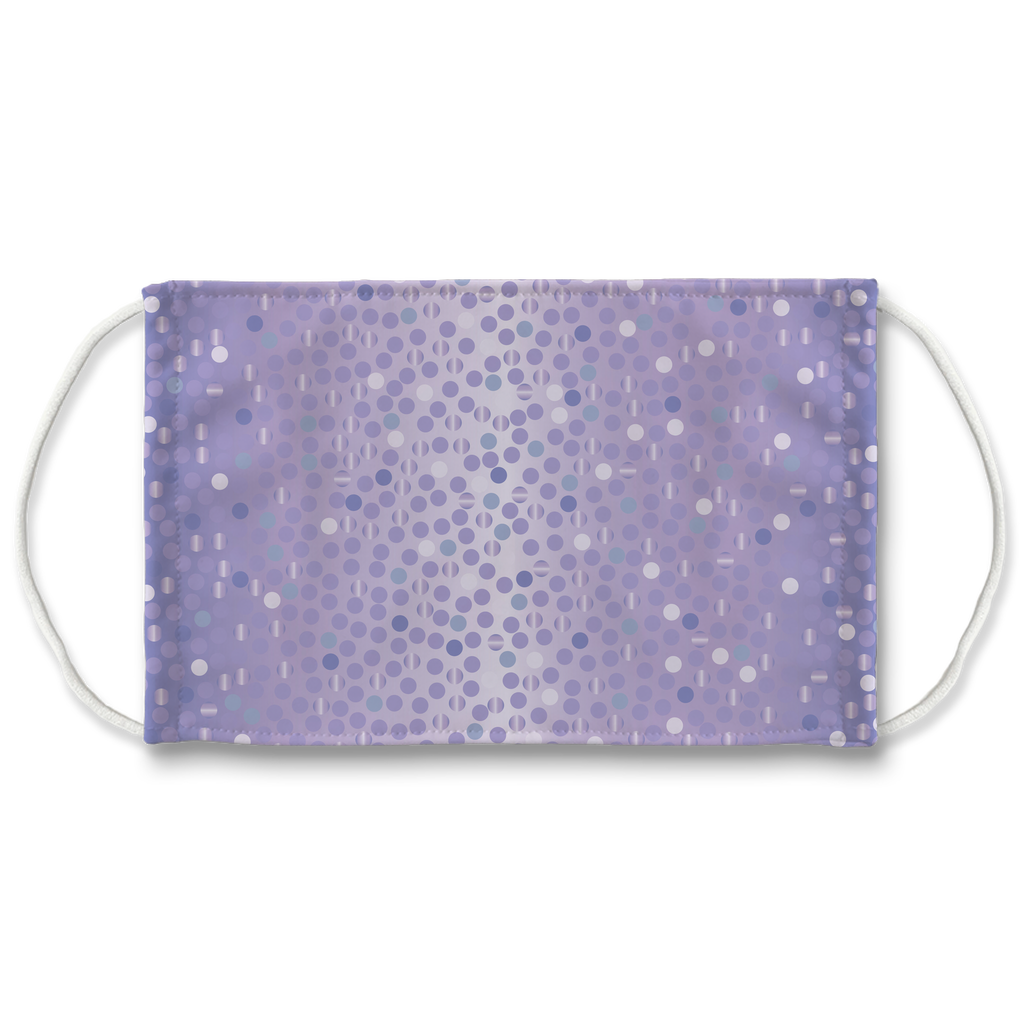 Dots Gradient Background 9  Face Mask