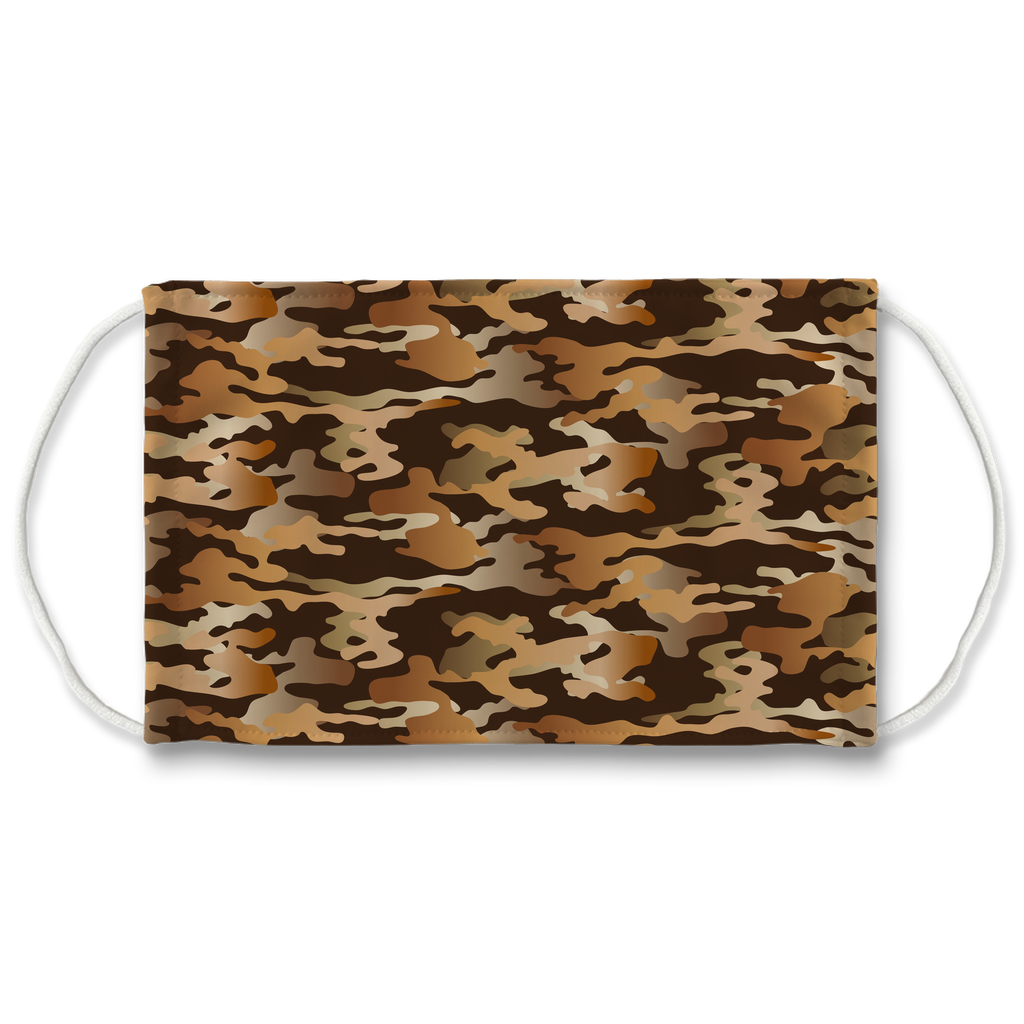 Camouflage Pattern 2  Face Mask