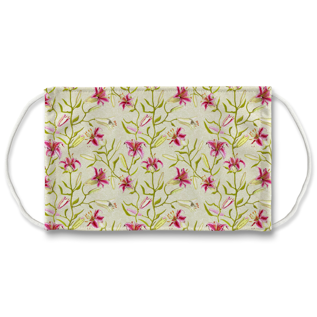 Floral pattern 15  Face Mask