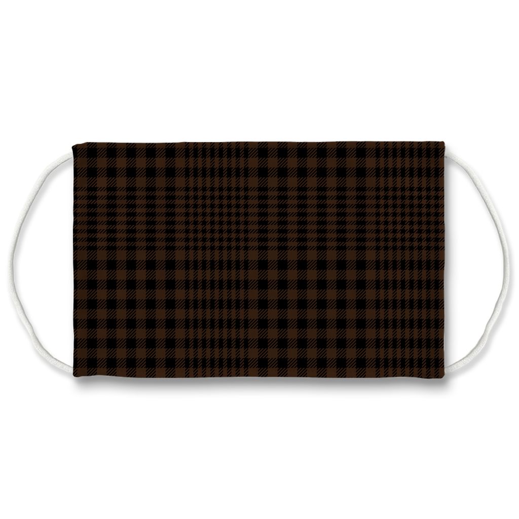 Glen Plaid 2  Face Mask