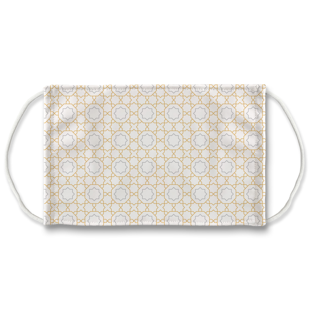 Pastel Moroccan Pattern 5  Face Mask