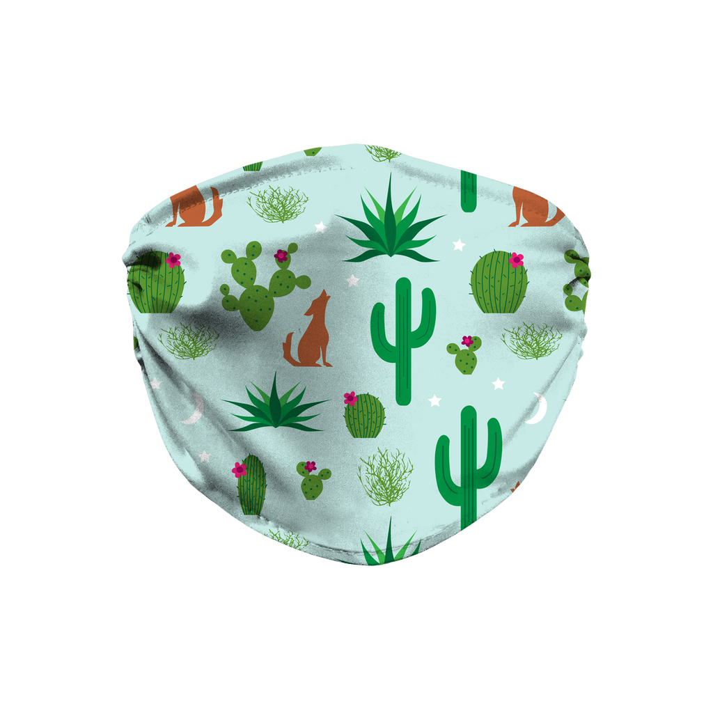 Cactus Pattern 8  Face Mask