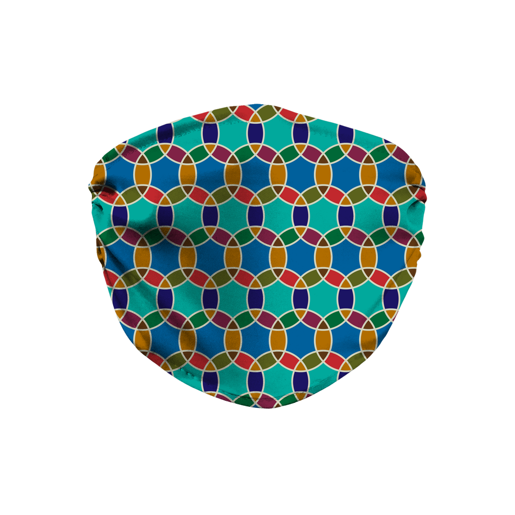 Moroccan Tile Pattern 2  Face Mask