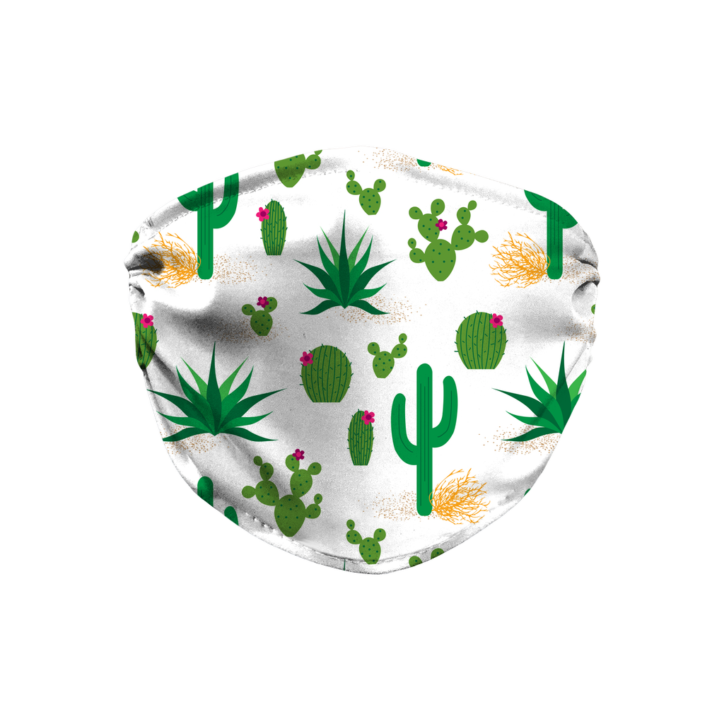 Cactus Pattern 5  Face Mask