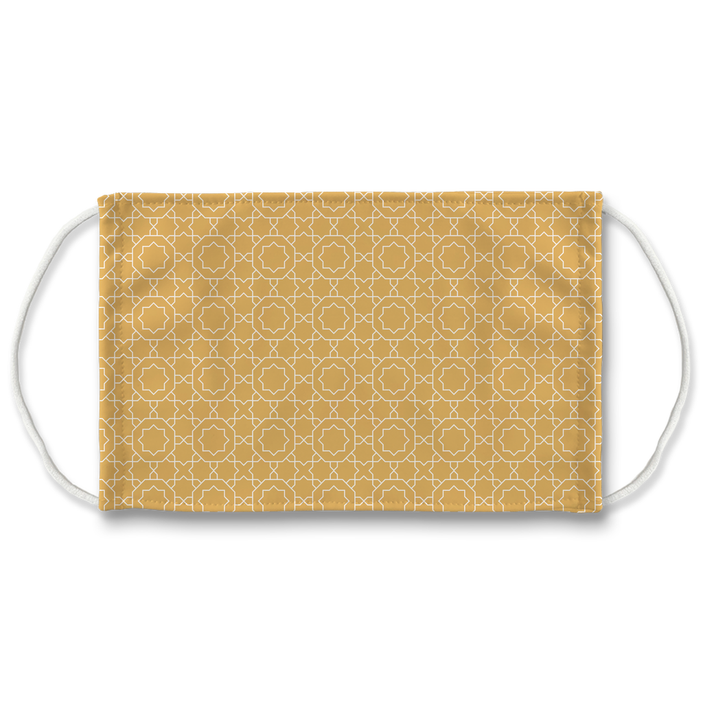 Pastel Moroccan Pattern 6  Face Mask