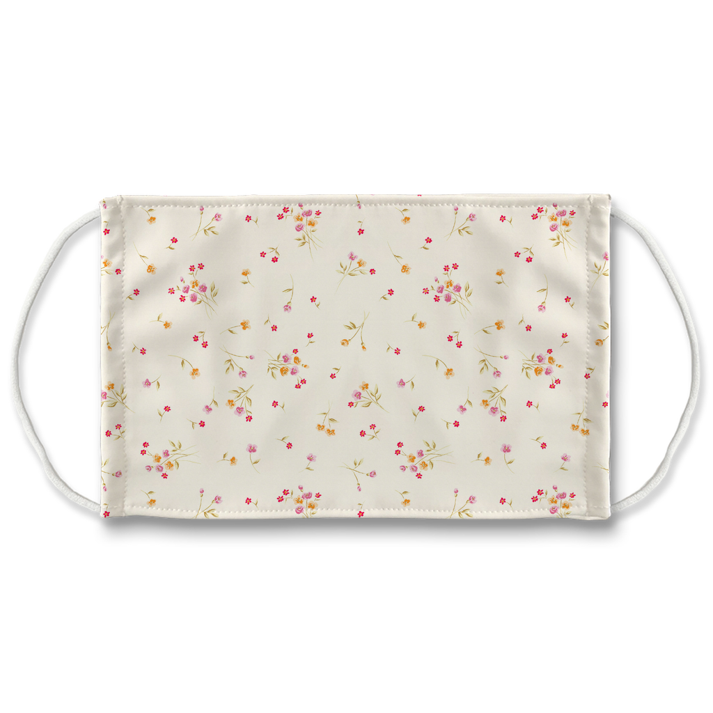 Floral pattern 12  Face Mask