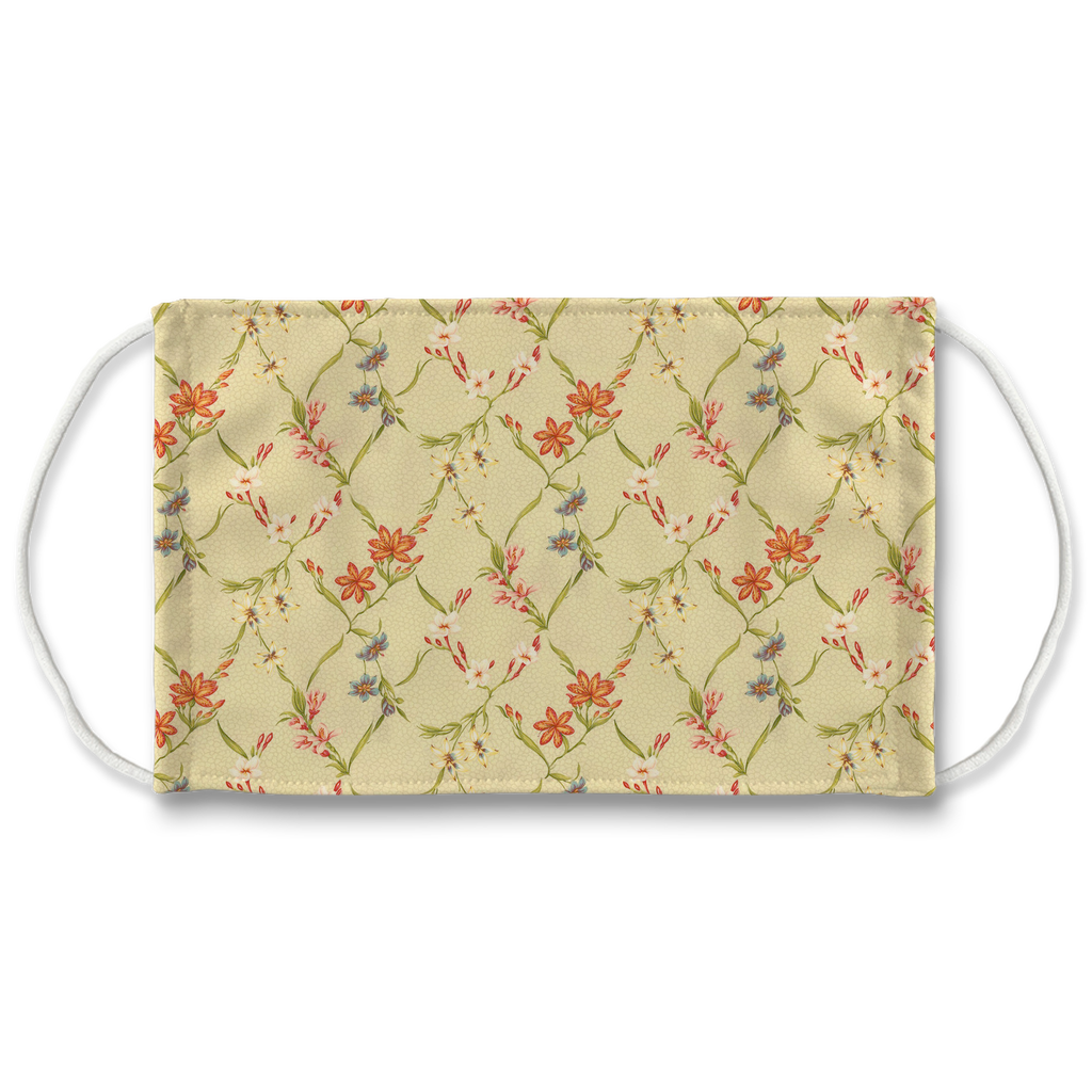 Floral pattern 7  Face Mask