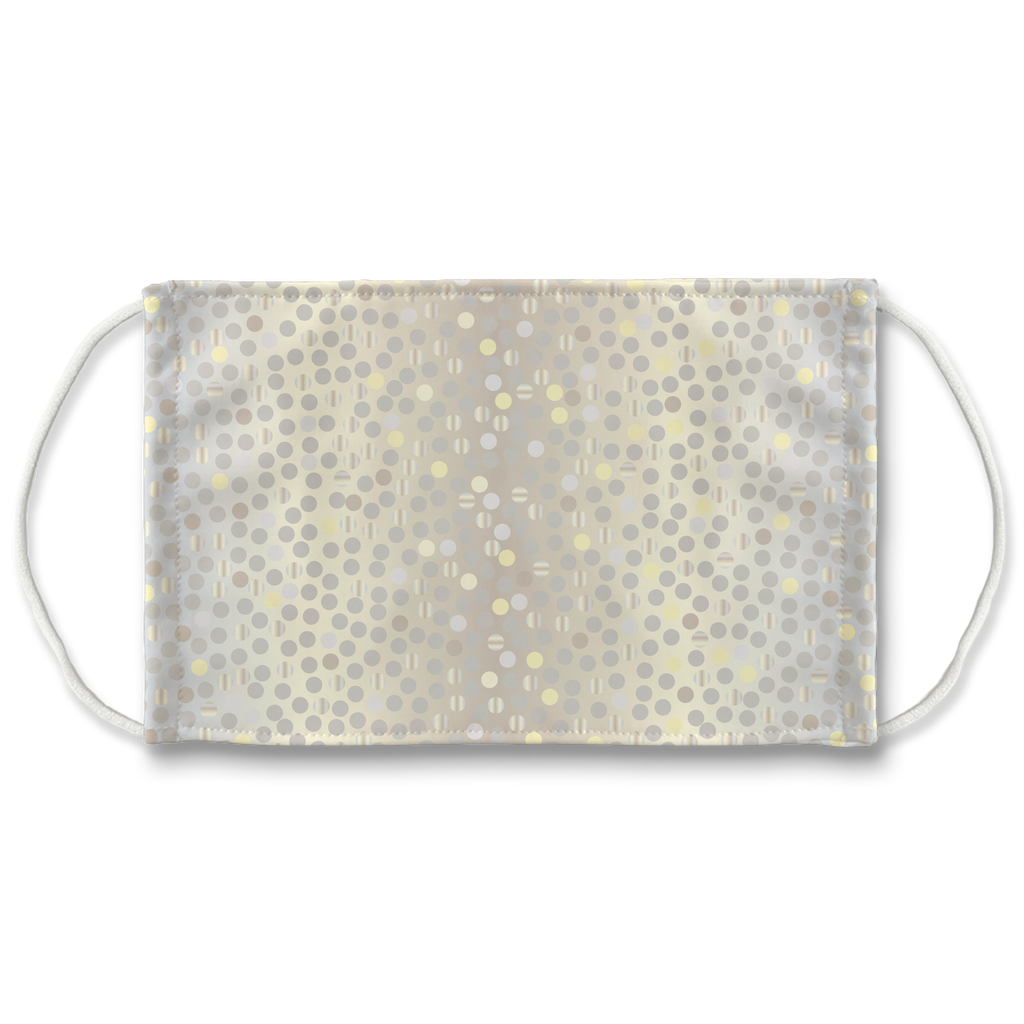 Dots Gradient Background 2  Face Mask