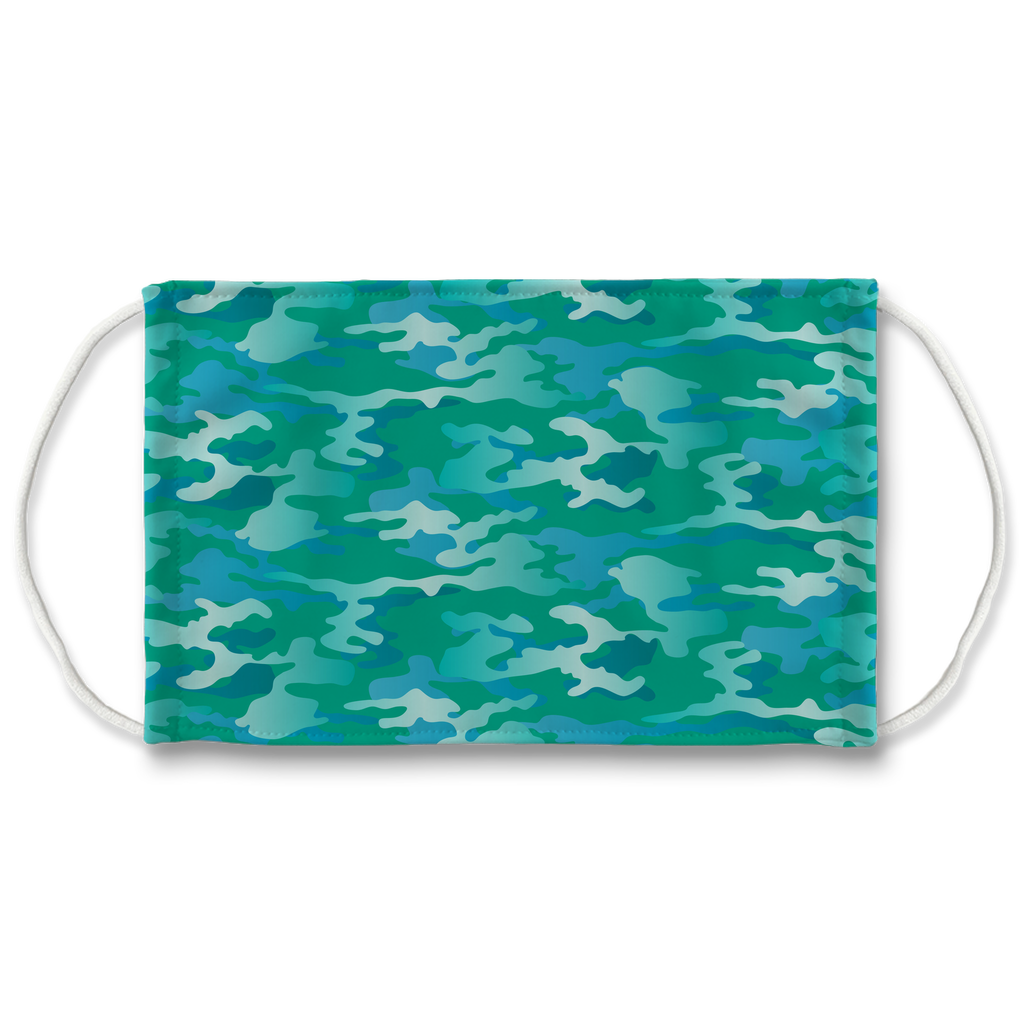 Camouflage Pattern 8  Face Mask