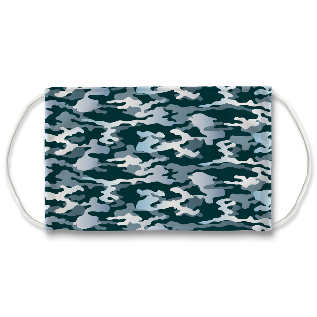 Camouflage Pattern 3  Face Mask