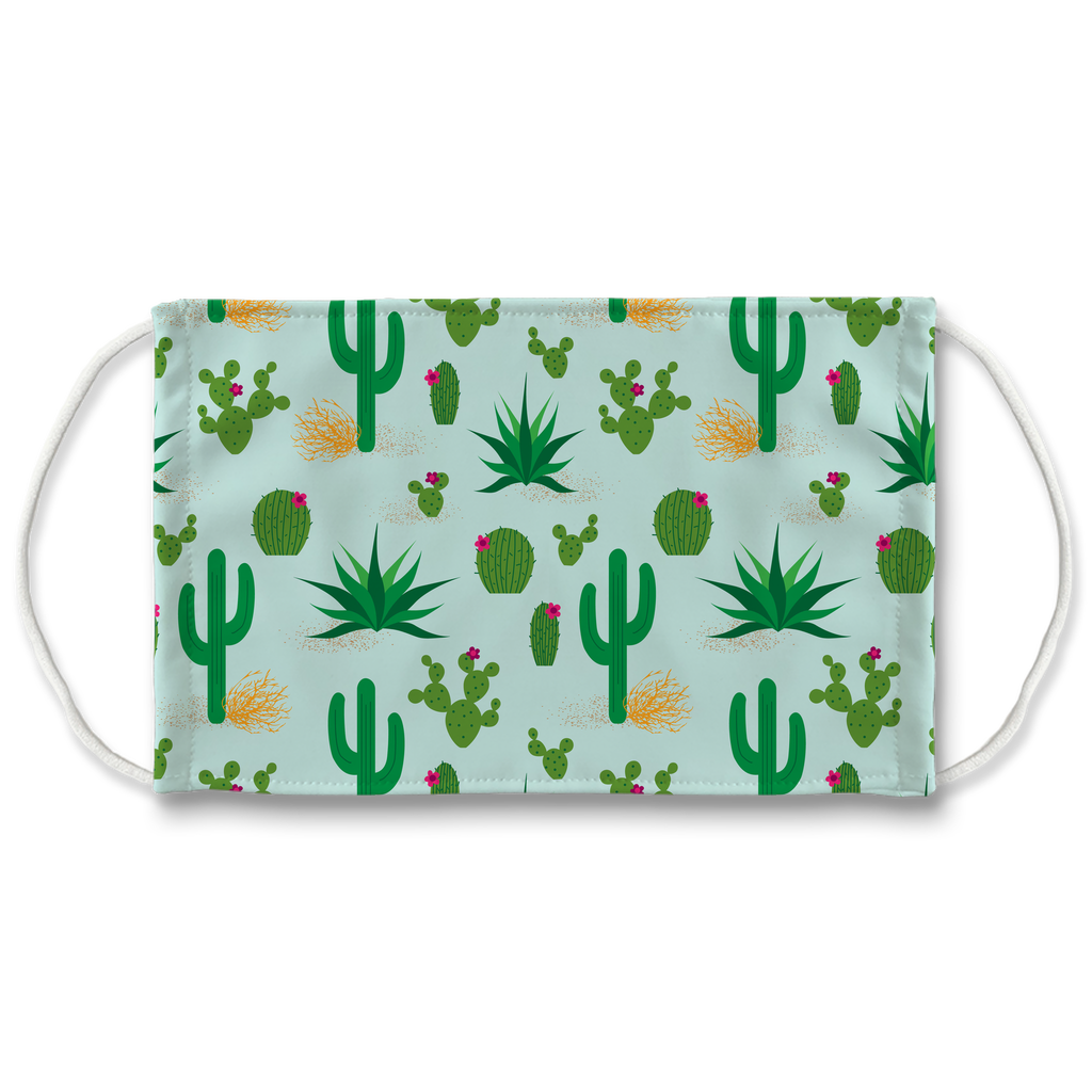 Cactus Pattern 6  Face Mask