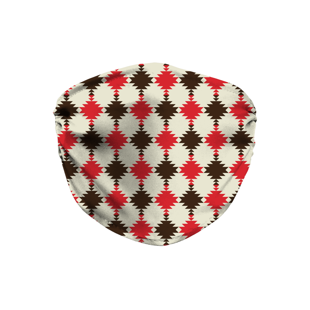 Native American Pattern 13  Face Mask